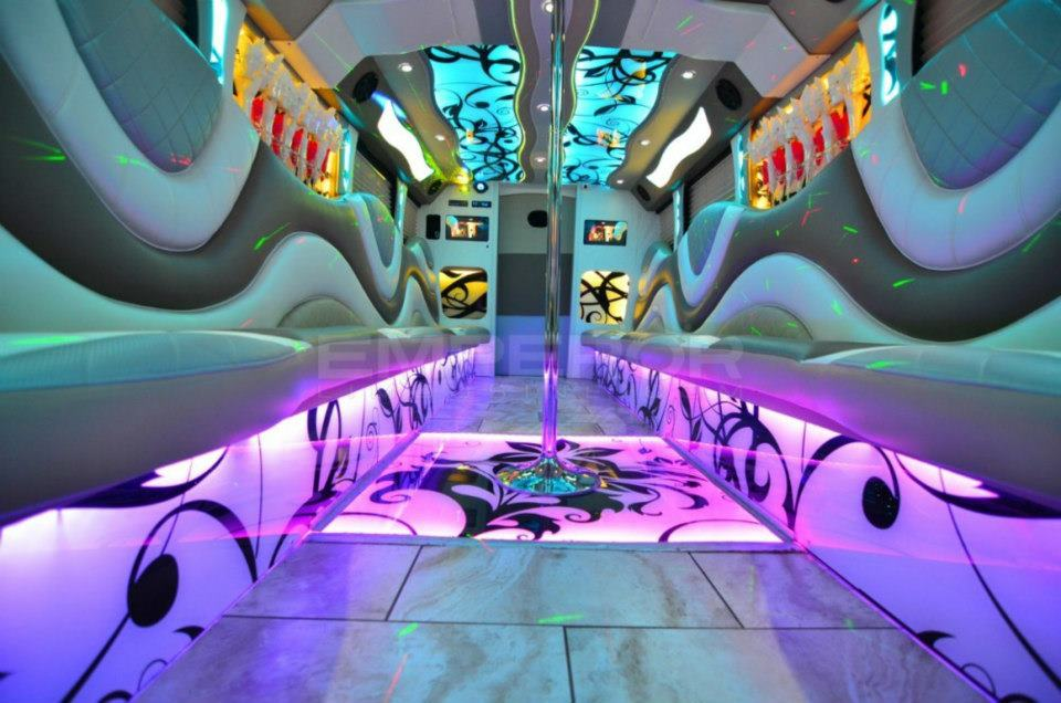 San Antonio Party Bus Rental Services 35 Passenger