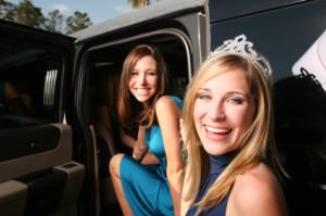 San Antonio  Prom limousine rental  transportation discount service bus limousine