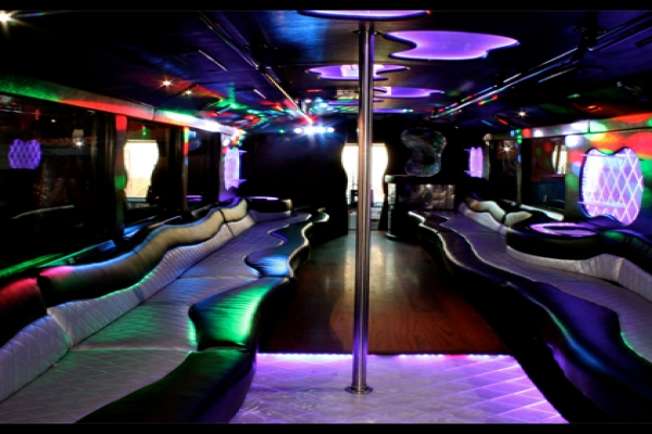 San Antonio Limo Bus Rental Services Transportation 25 passenger